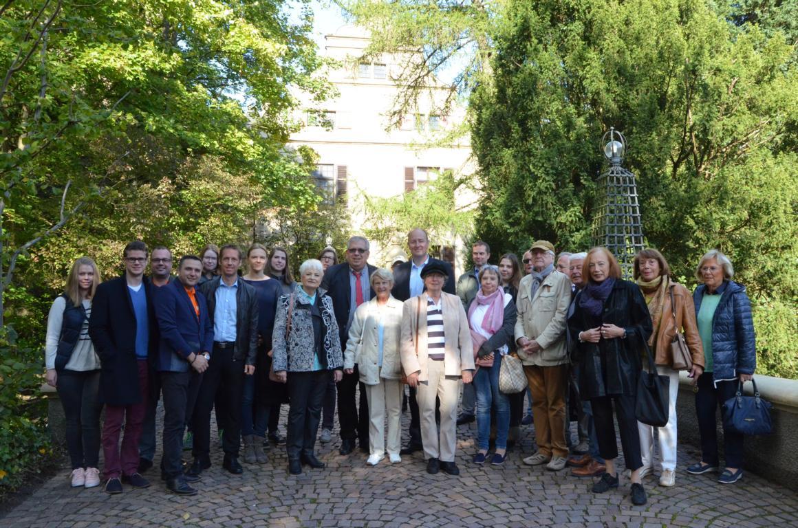 Die CDU Kettwig auf Schloss Landsberg