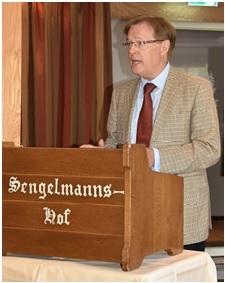 Justizminister Wolfgang Biesenbach